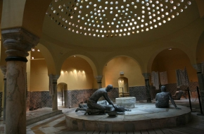 The Turkish bath house1